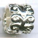 grootgatskralen 10mm zilver cilinder