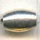 grootgatskralen 8mm zilver ovaal