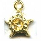 hanger kastjes 14mm goud ster