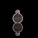 munten 8mm brons rond metaal