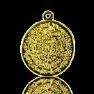 munten 38mm hierogliefen goud rond