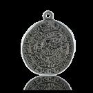 munten 38mm hierogliefen oudzilver rond