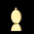 hanger setting kastjes 10mm goud ovaal
