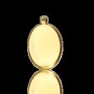 hanger setting kastjes 14mm goud ovaal