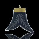 hangers 33mm zwart vin hoorn