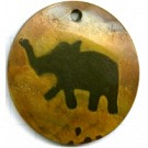 hangers 50mm bruin dier exotisch