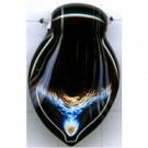 hangers 32mm zwart speciaal glas