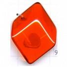 hangers 31mm oranje ruit
