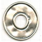 hangers 37mm oudzilver rond metaal