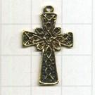 hangers 21mm oudgoud kruis metaal