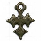 hangers 50mm oudgoud kruis metaal