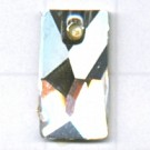 Swarovski 17mm kristal rechthoekig