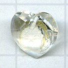 Swarovski 10mm kristal hartje kristal kleurnummer 0004
