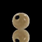 houten kralen 10mm naturel gelakt rond kleurnummer 6001