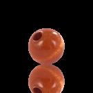 houten kralen 10mm bruin rond kleurnummer 6033