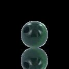 houten kralen 10mm donker groen rond