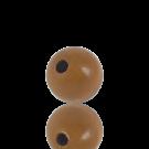 houten kralen 12mm bruin rond kleurnummer 6033