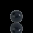 houten kralen 12mm zwart rond