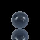 houten kralen 15mm blauw rond kleurnummer 6032