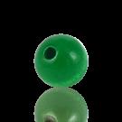 houten kralen 15mm groen rond kleurnummer 6094