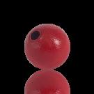houten kralen 20mm rood rond kleurnummer 6010