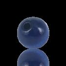 houten kralen 20mm blauw rond