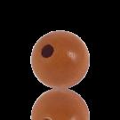 houten kralen 20mm bruin rond kleurnummer 6033