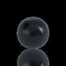 houten kralen 20mm zwart rond