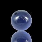 houten kralen 25mm blauw rond
