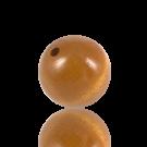 houten kralen 25mm bruin rond kleurnummer 6033