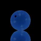 houten kralen 25mm blauw rond kleurnummer 6529