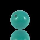 houten kralen 25mm turquoise rond kleurnummer 6536
