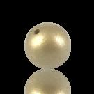 houten kralen 25mm goud rond