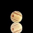 houten kralen 6mm bruin rond kleurnummer licht
