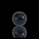houten kralen 8mm zwart rond kleurnummer 6047