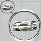 inhaaksluitingen 1mm zilver cilinder kleurnummer 771