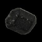 Kunststofkralen 25mm mat zwart