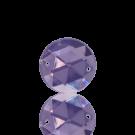 opnaaistenen 15mm paars rond kleurnummer 3020
