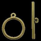 kapittelsluitingen 30mm goud rond