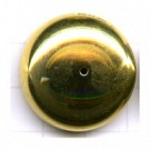 kapjes 27mm goud rond