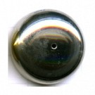 kapjes 27mm zilver rond