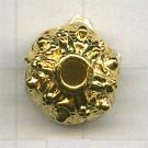 kapjes 14mm goud rond 5