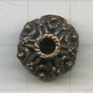 kapjes 14mm brons rond