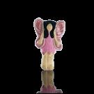 keramiek kralen 15mm roze engel elfje