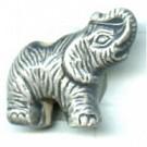 keramiek kralen 18mm grijs dier