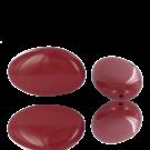 Kiezelsteen kralen 50mm koraal rood