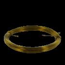 koperdraad 6mm goud rond kleurnummer 737