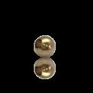 kralen 4mm goud rond metaal