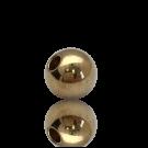 kralen 5mm goud rond metaal