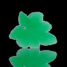 hangers 28mm groen blaadje